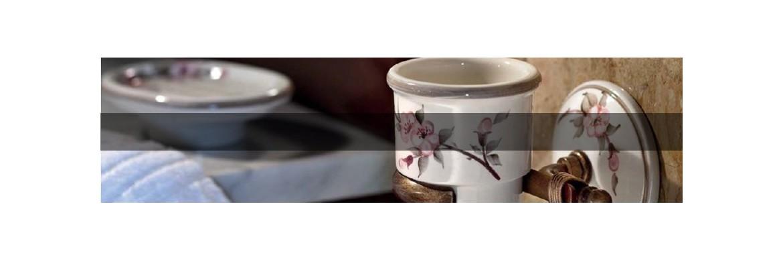 Accessori in ceramica per il bagno italianlightstore - Accessori bagno in ceramica ...