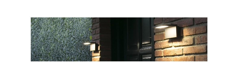 LED a parete per esterno